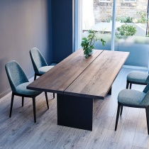 Ex-Display: Origin Dining Table - L230cm Mochaccino Solid Oak